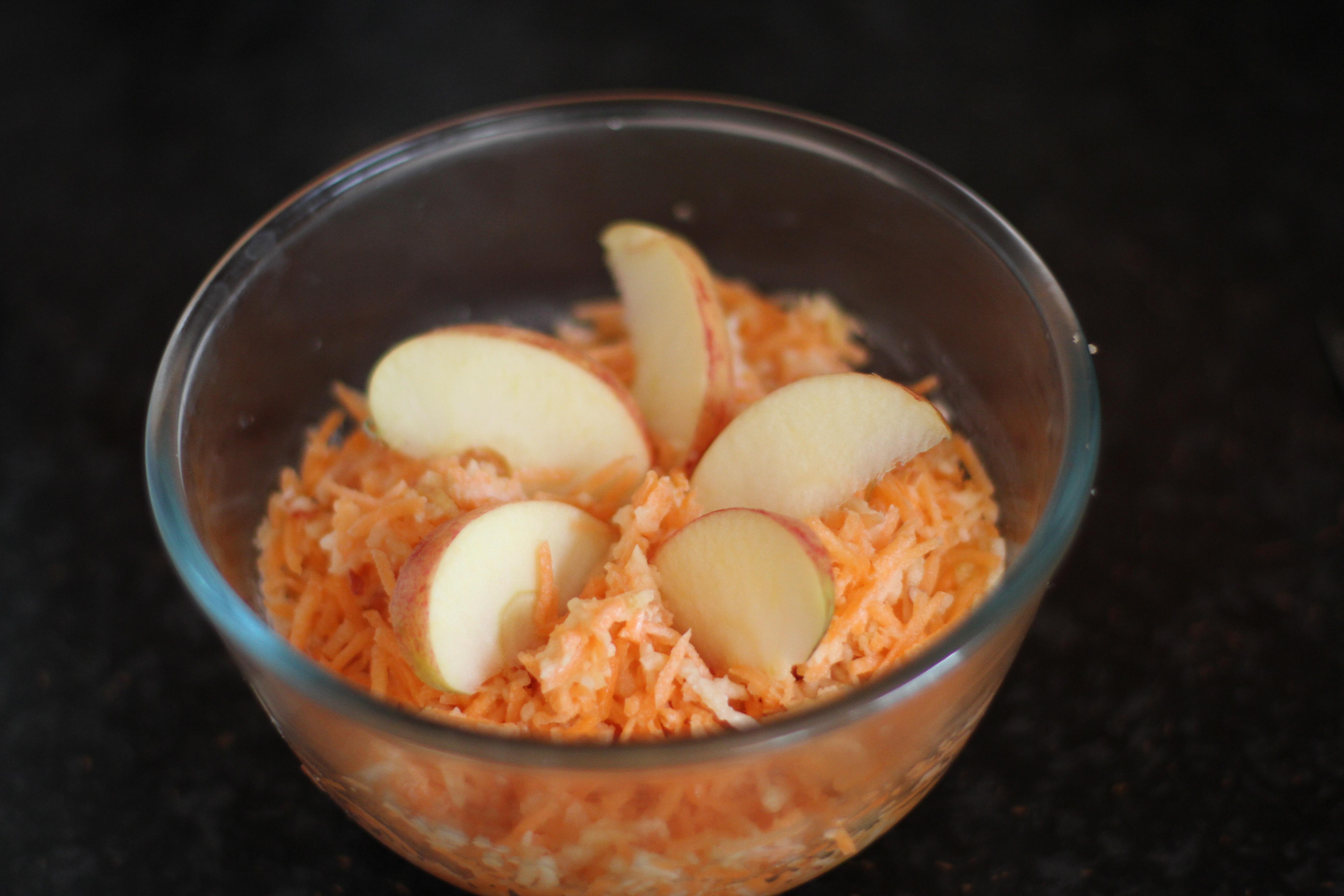 surówka z marchwi i jabłek