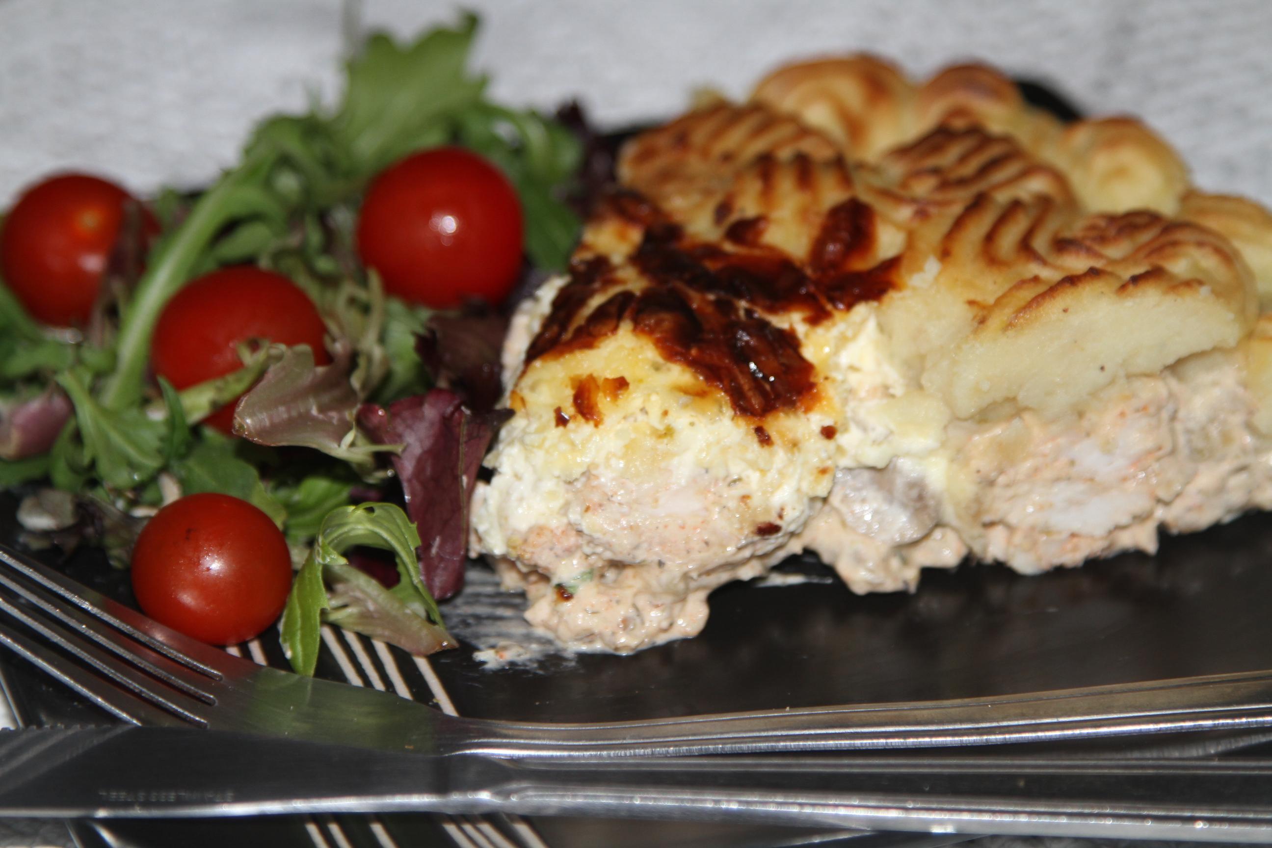 Zapiekanka ziemniaczana,angielski pie