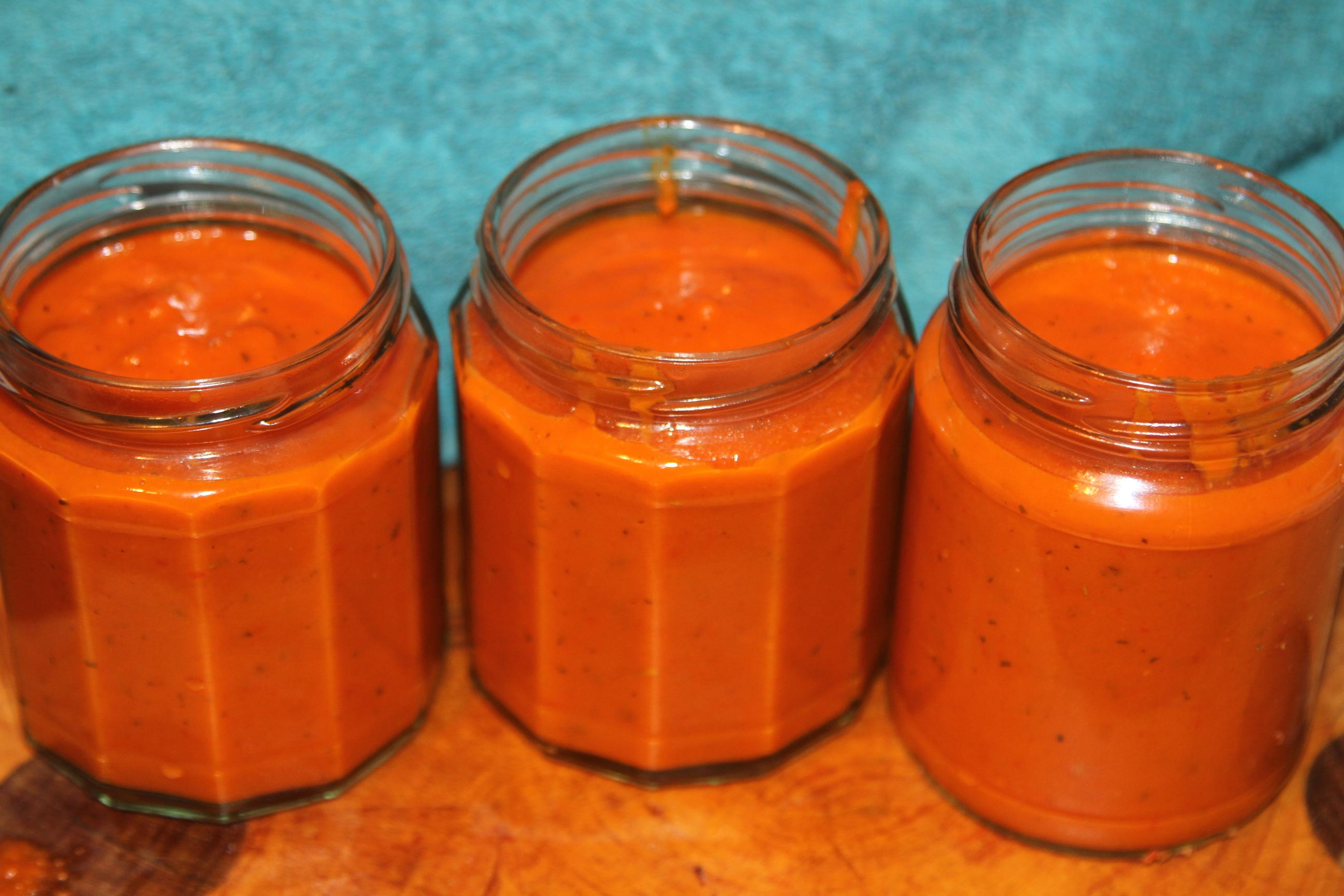 ajwar, pyszny sos