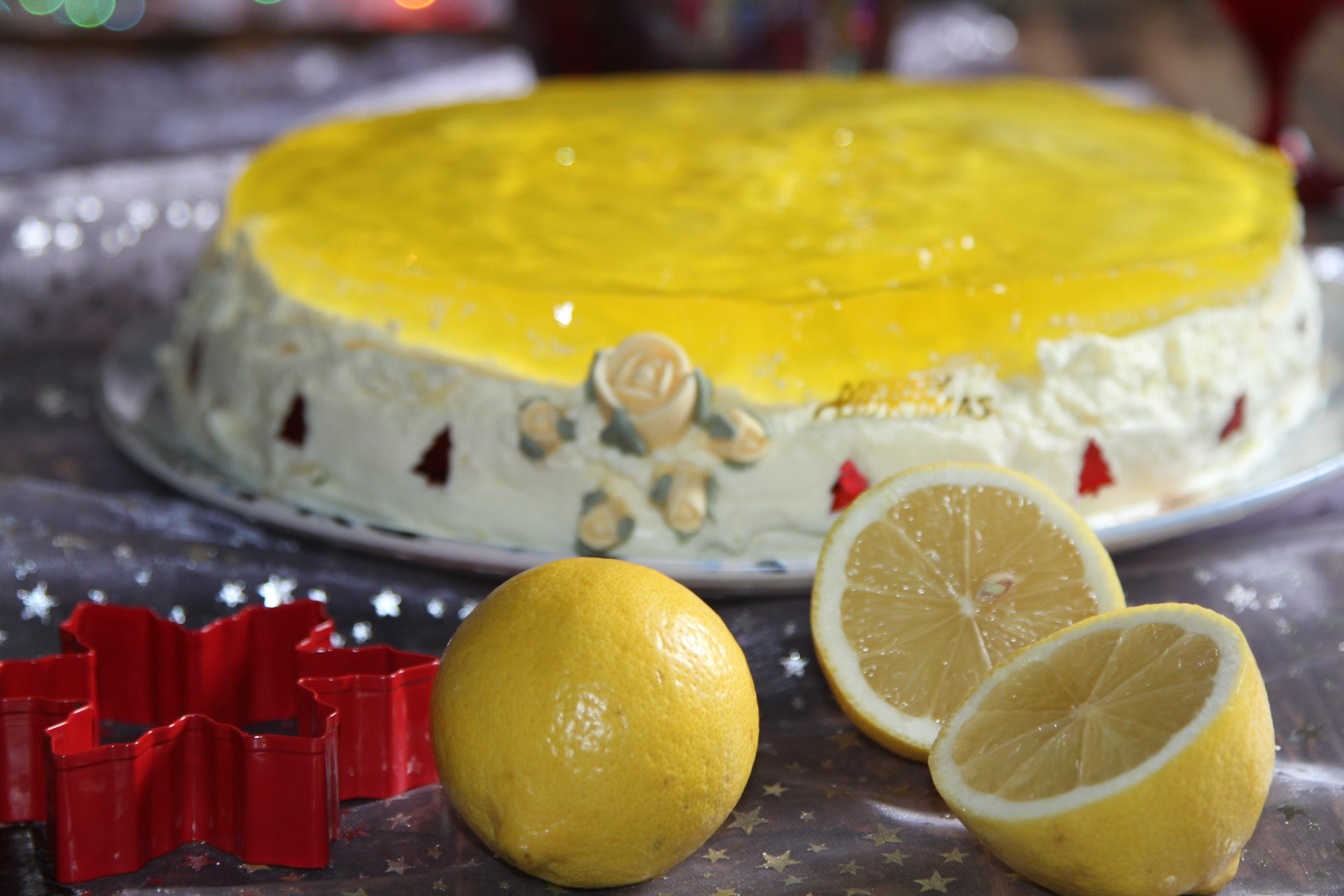Cytrynka orzeżwiający torcik