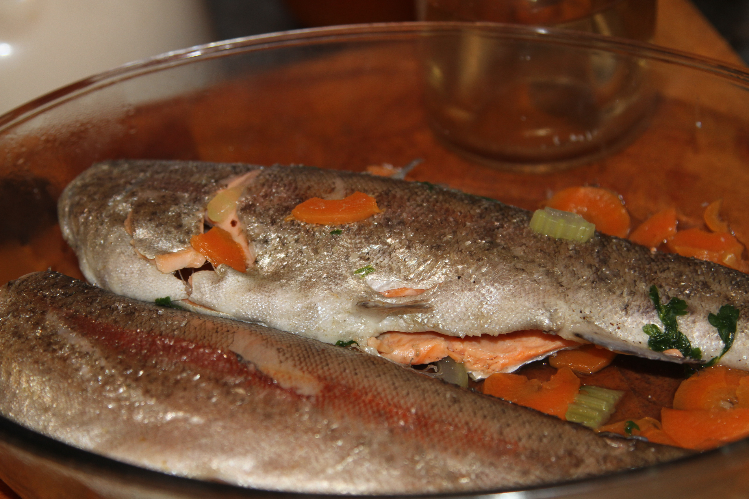 ryba gotowana