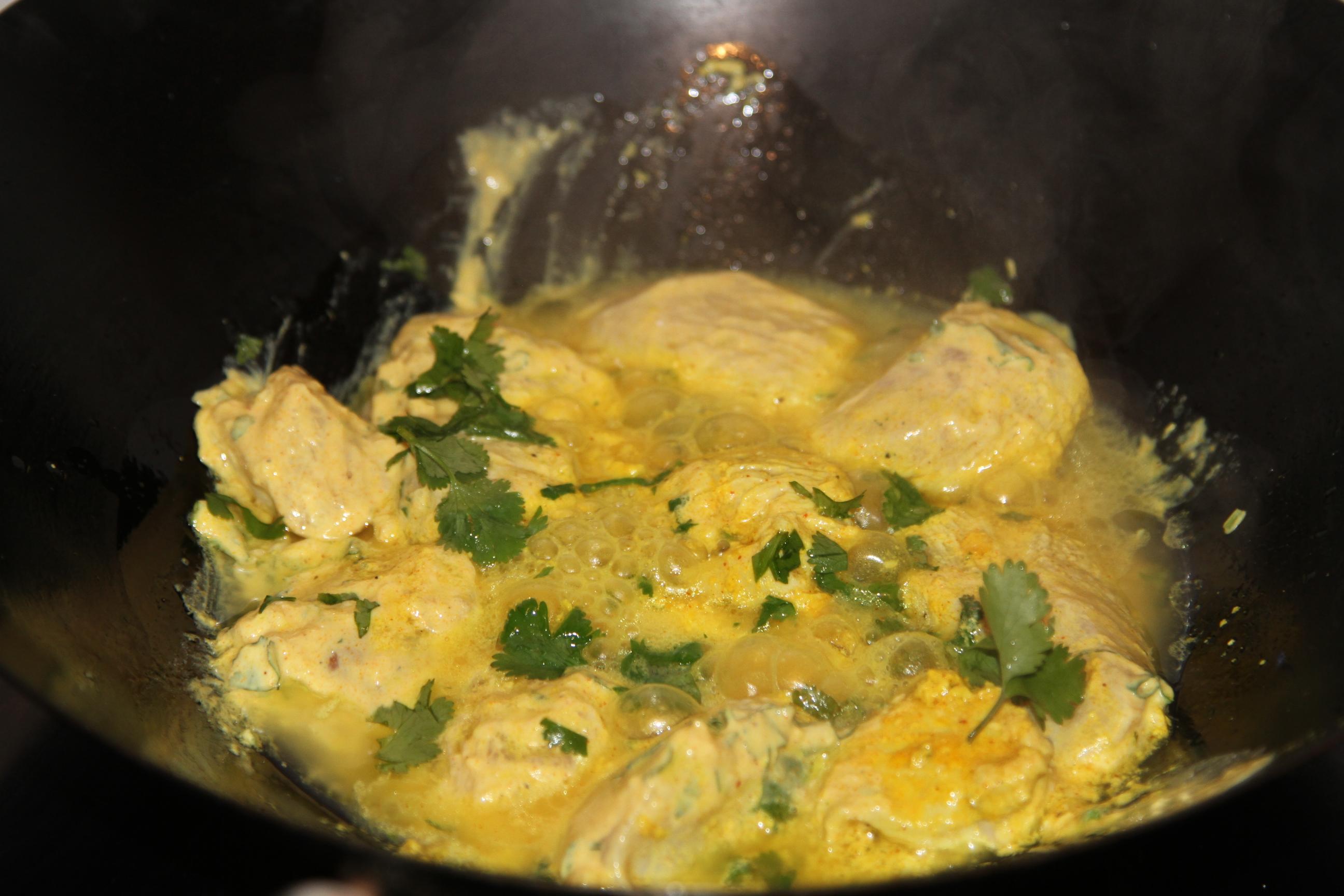 kurczak w egzotycznym sosie