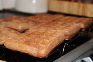 Pyszne kakaowe gofry