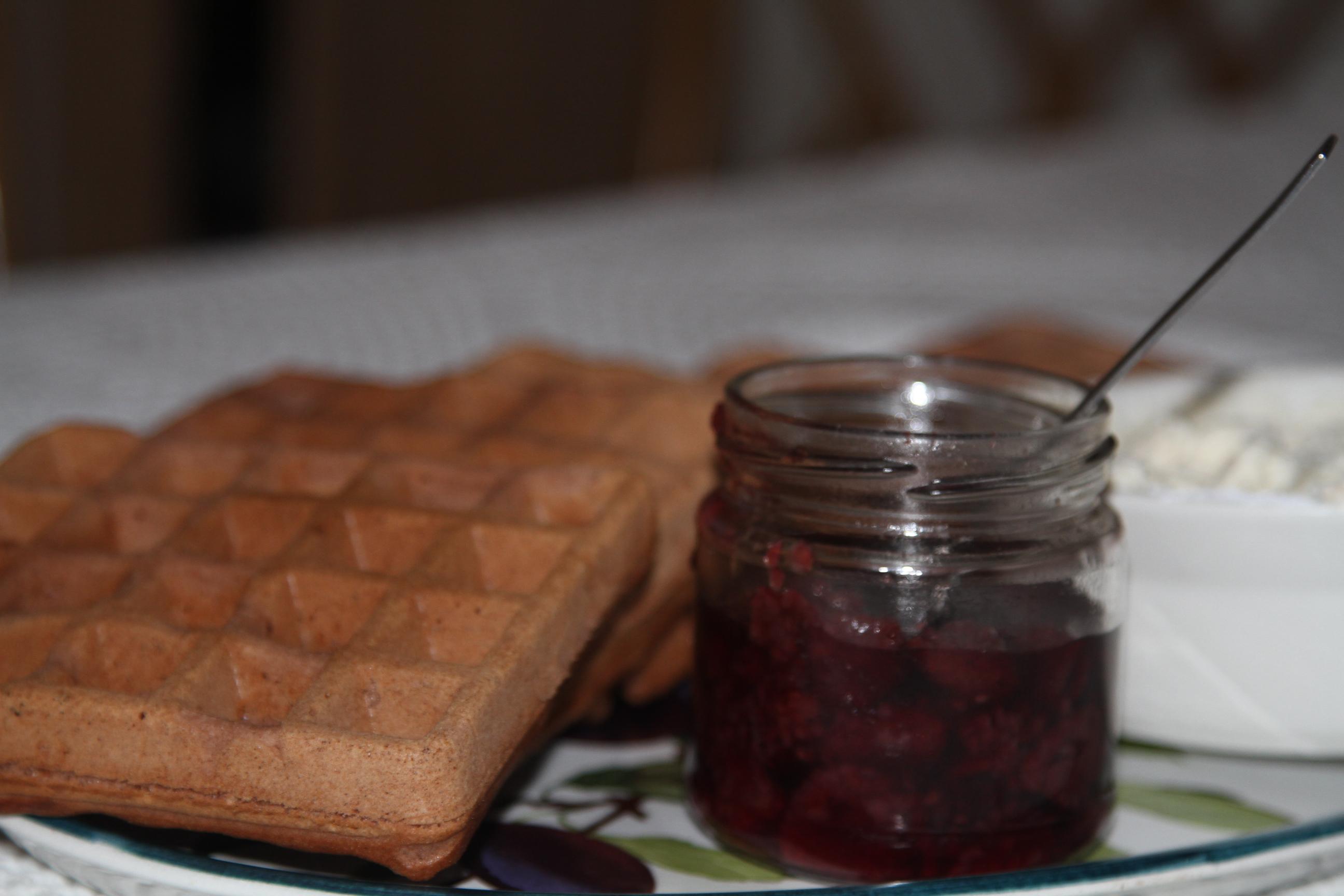 gofry kakaowo-waniliowe