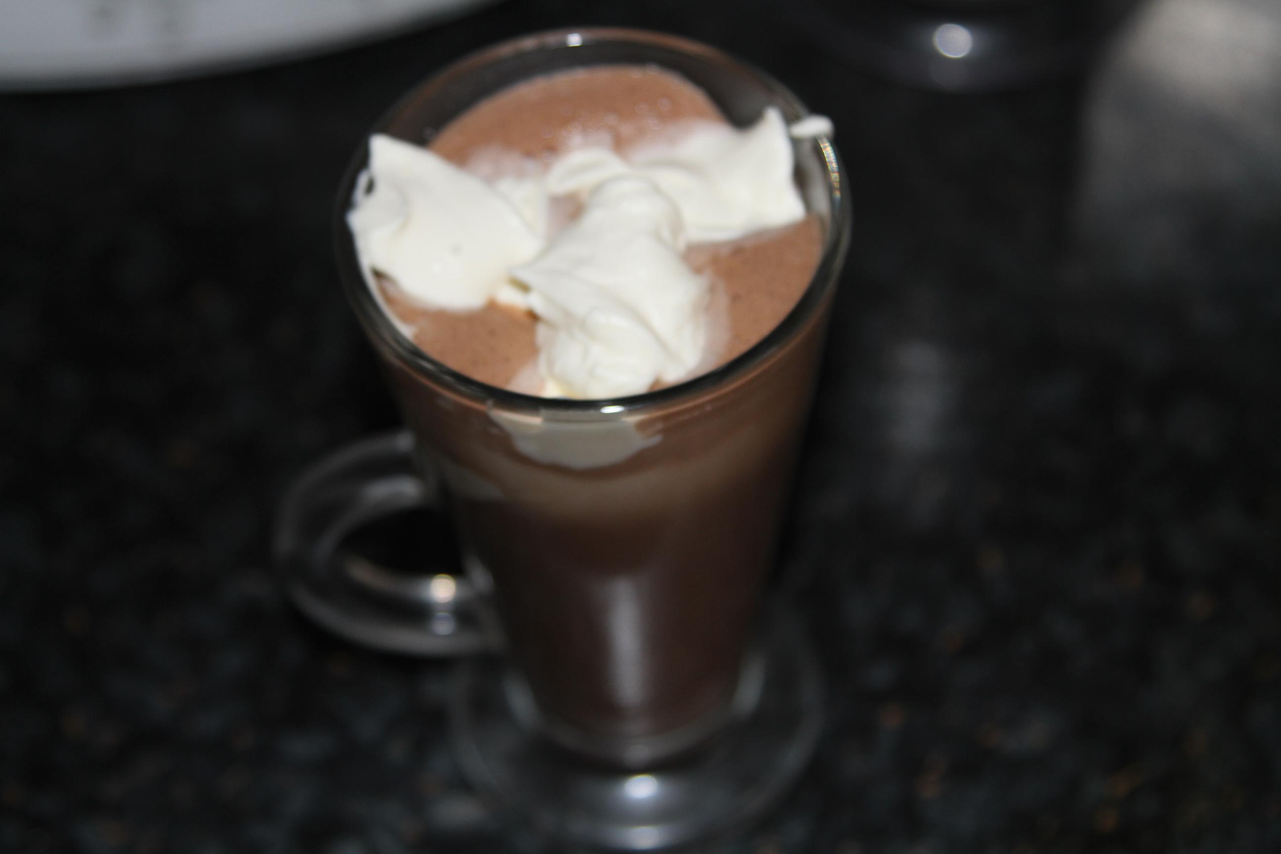 napój czekoladowy