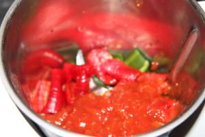 pomidorowa zupa z papryką