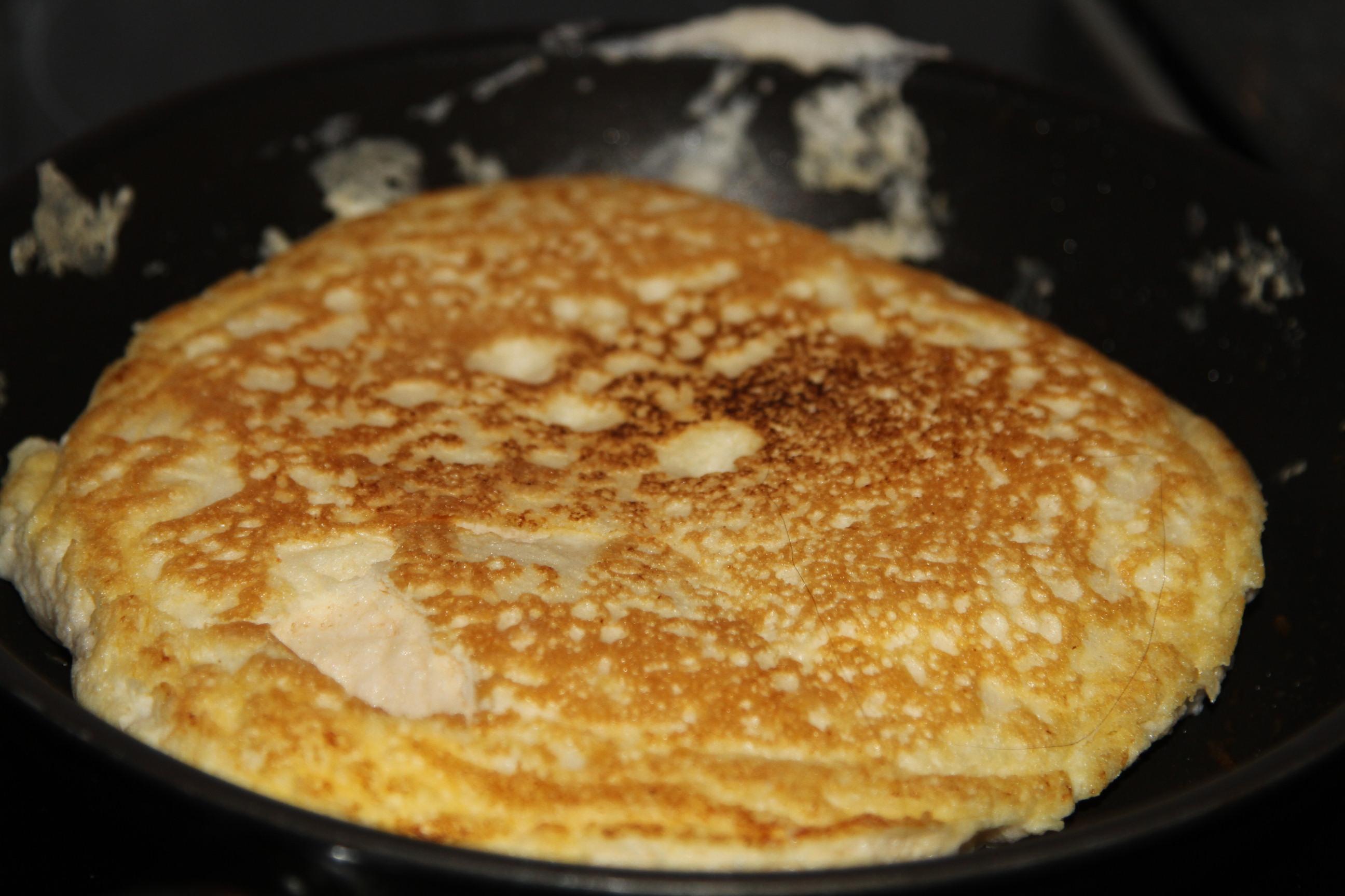 omlet puszysty