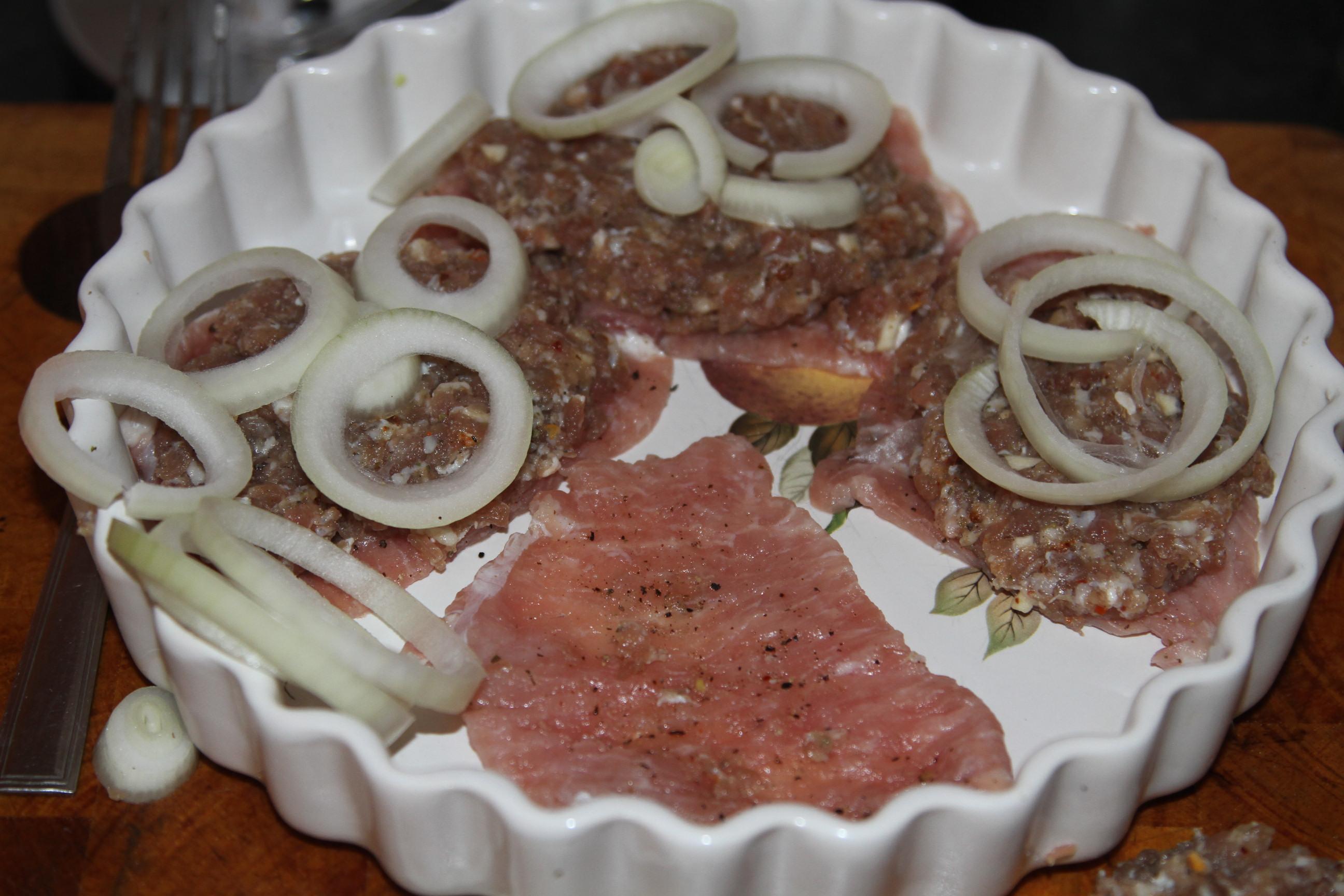 pieczeń z kilku mięs