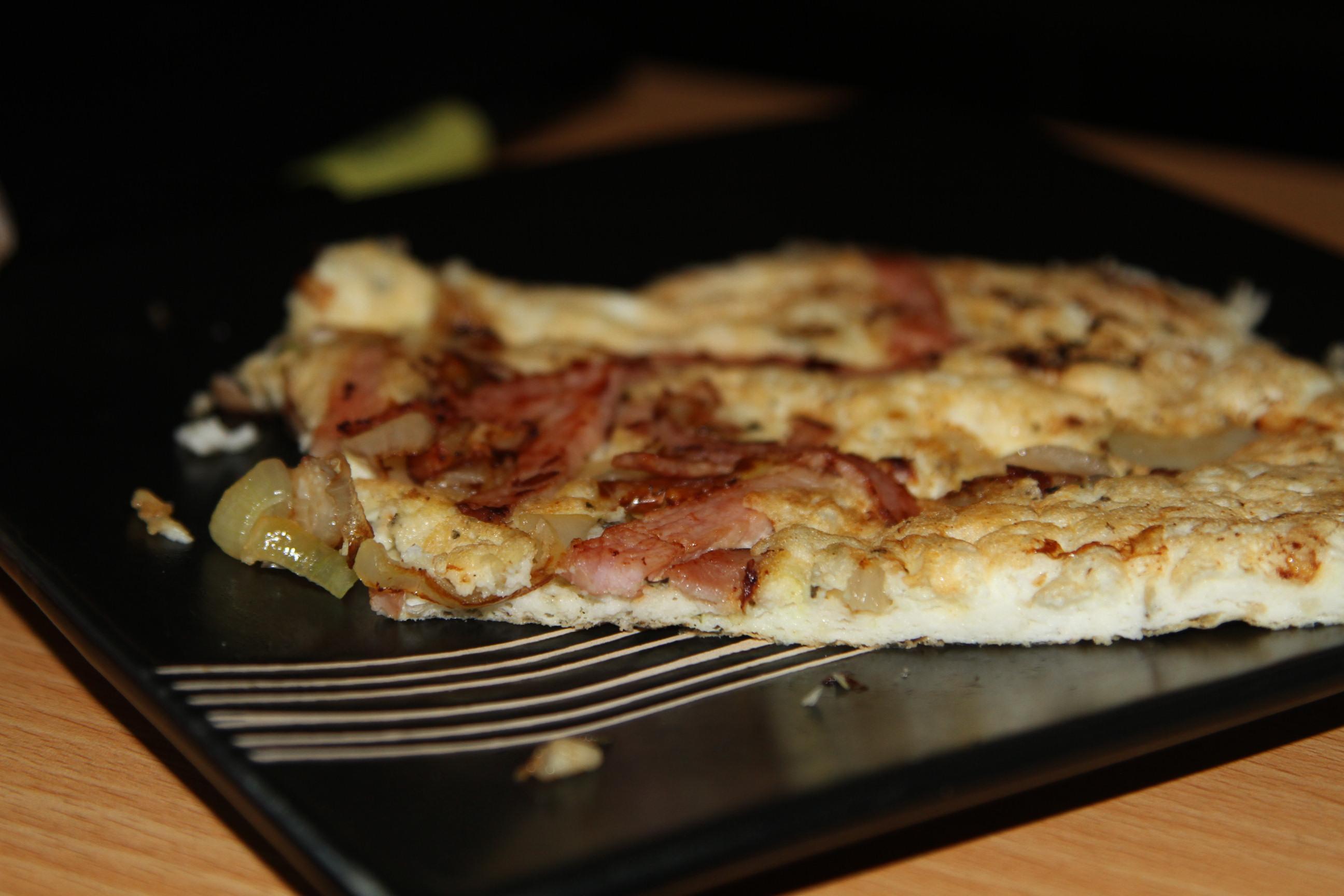 omlet z cebulą