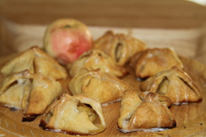 kruche ciastka z jabłkami