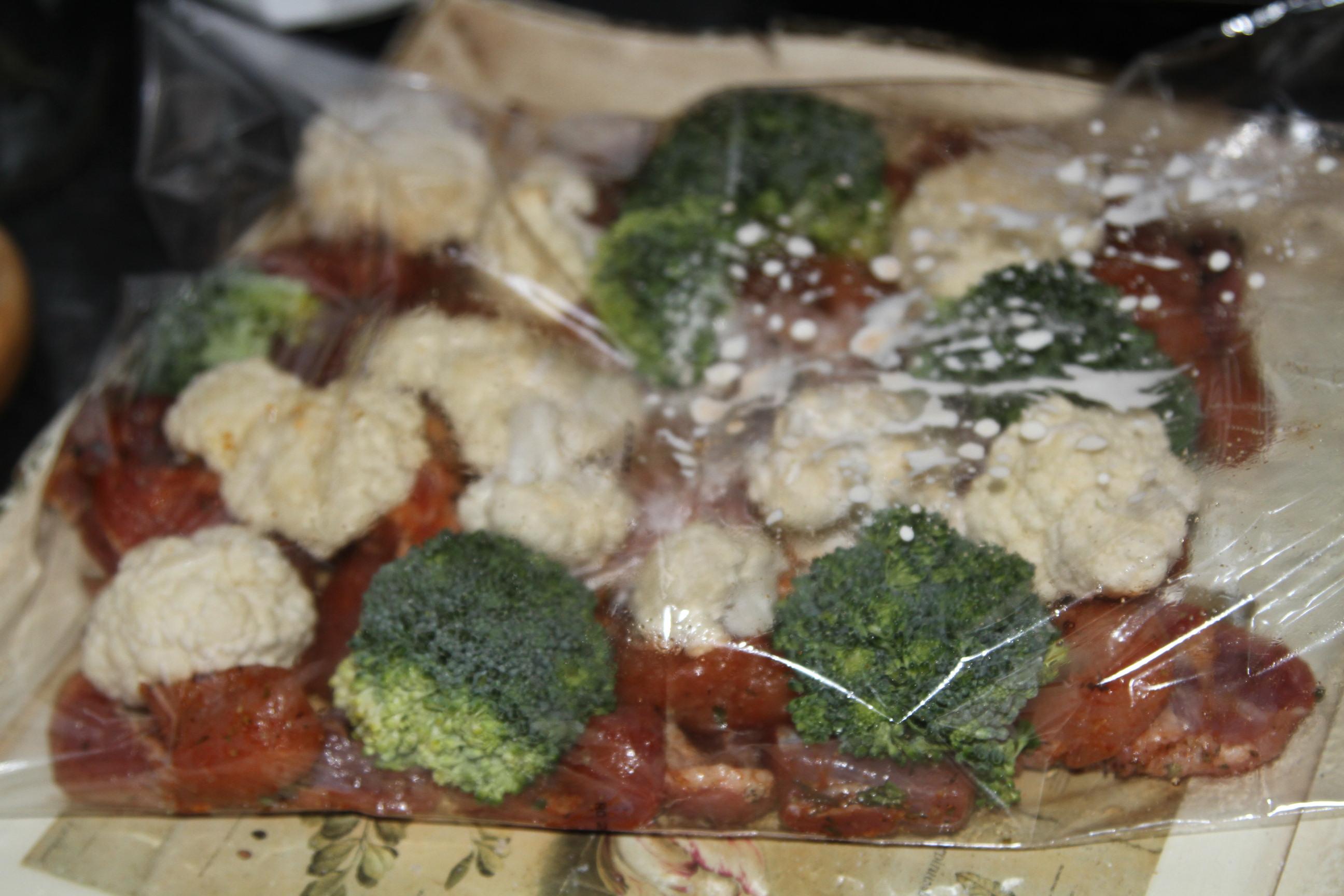 obiad z warzywami
