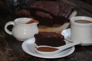 czekoladowe ciasto z buraczkami