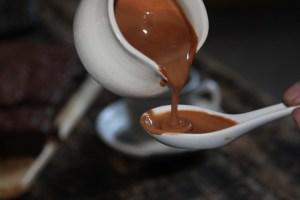 sos z czekolady