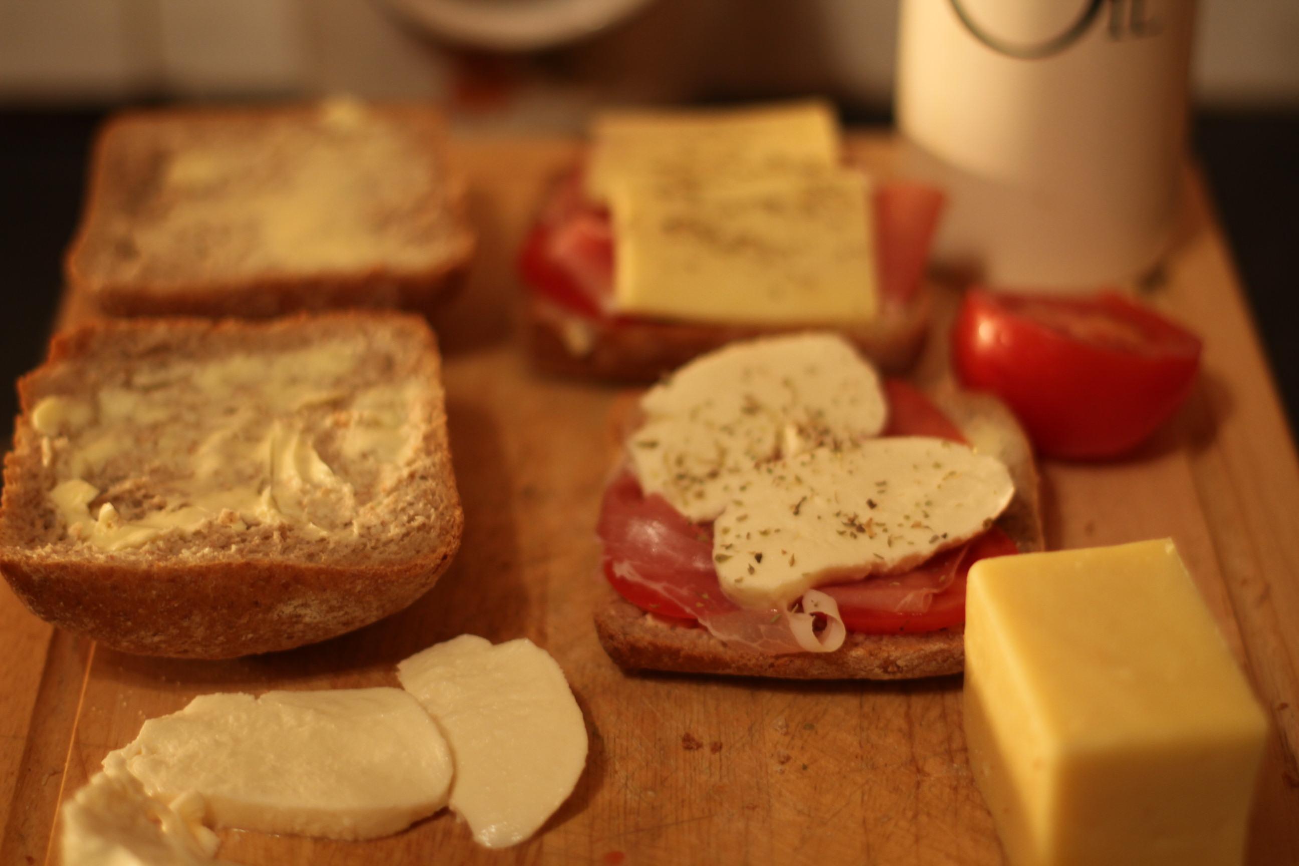kanapka na ciepło
