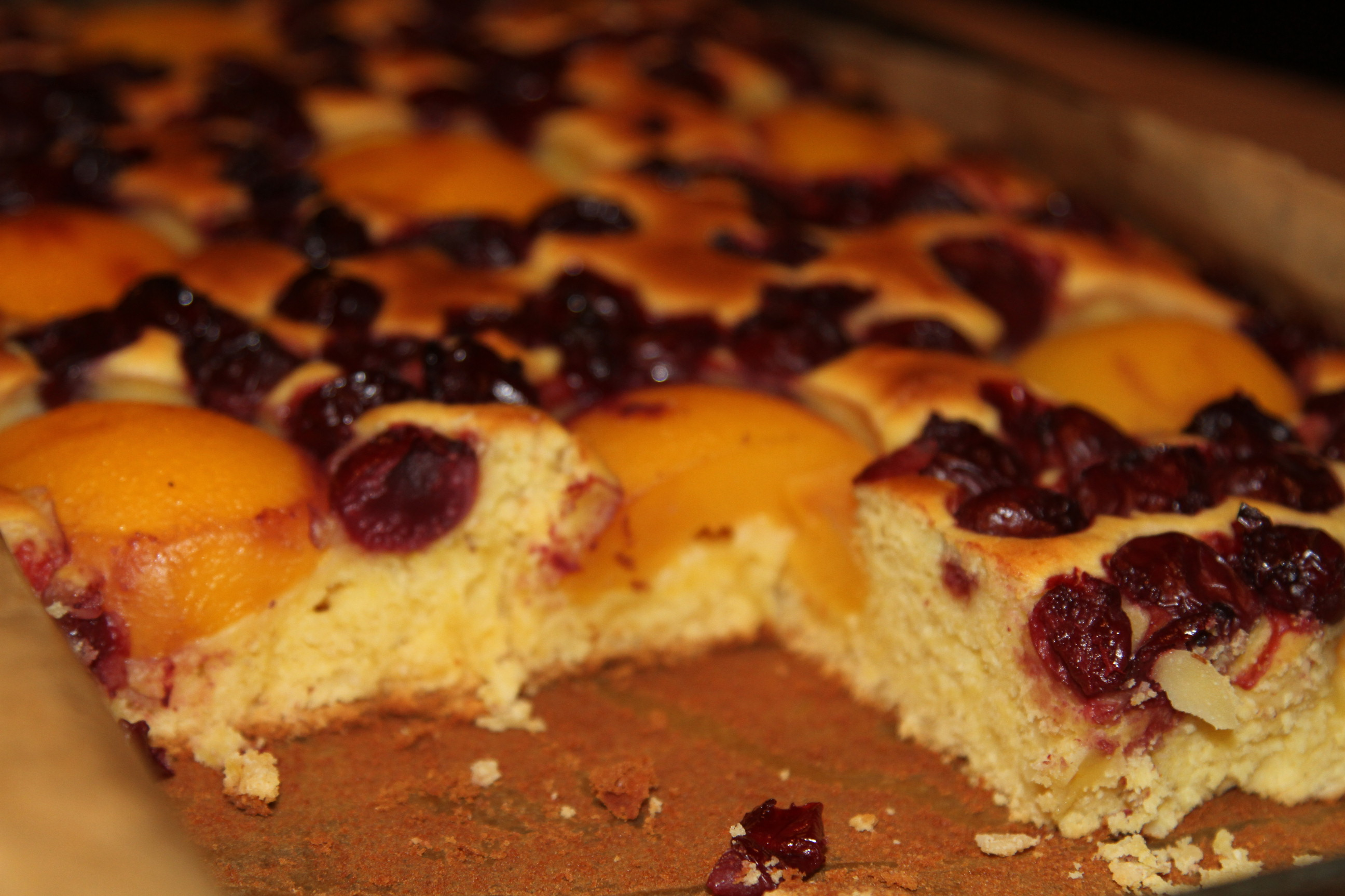 ciasto z wisniami