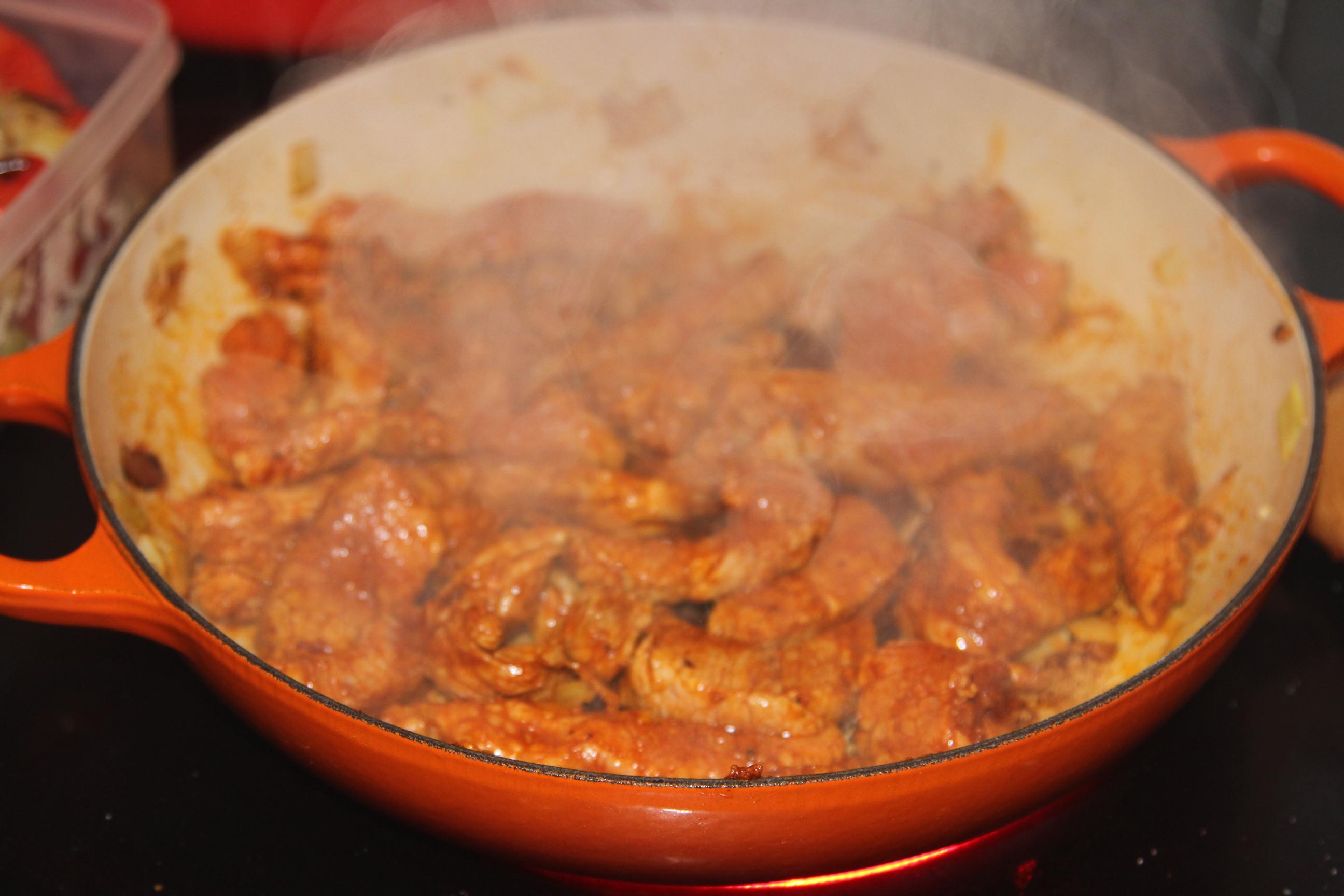 Schab w sosie paprykowym