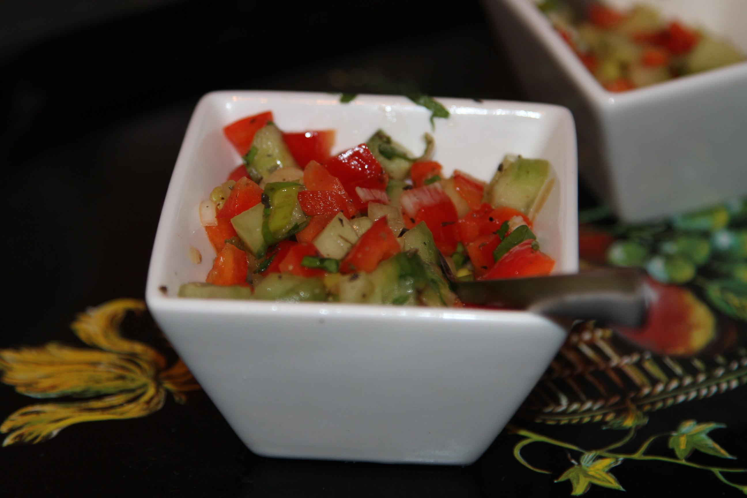 dip z warzyw