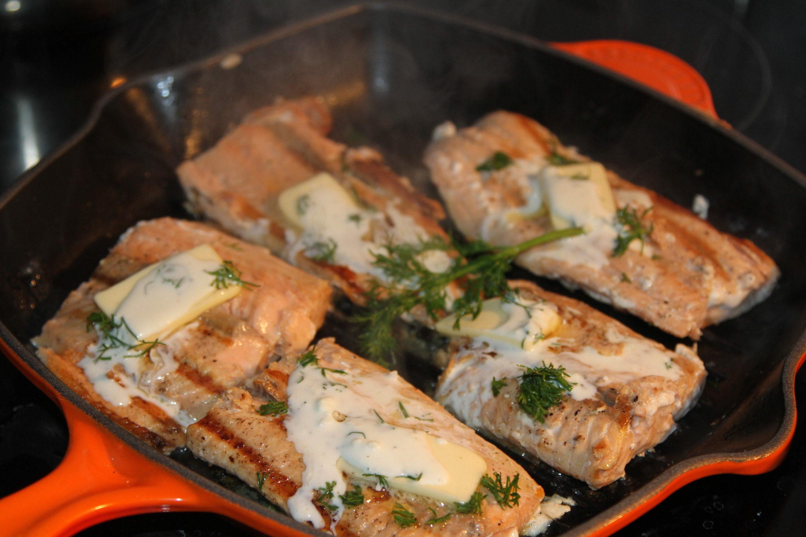 grilowana ryba