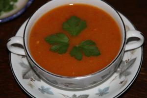 pikantna zupa z papryki