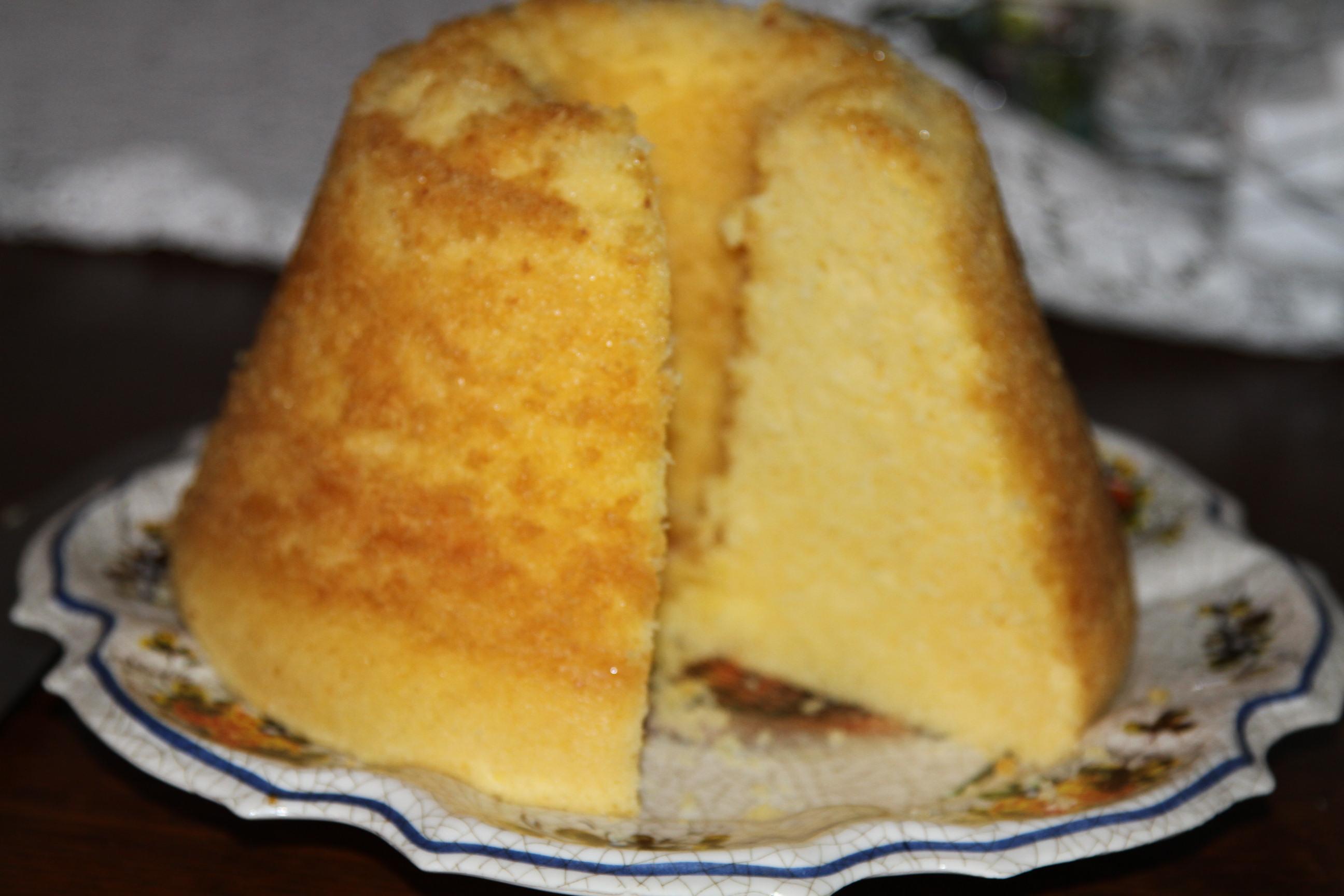 babka ajerkoniakowa gotowana