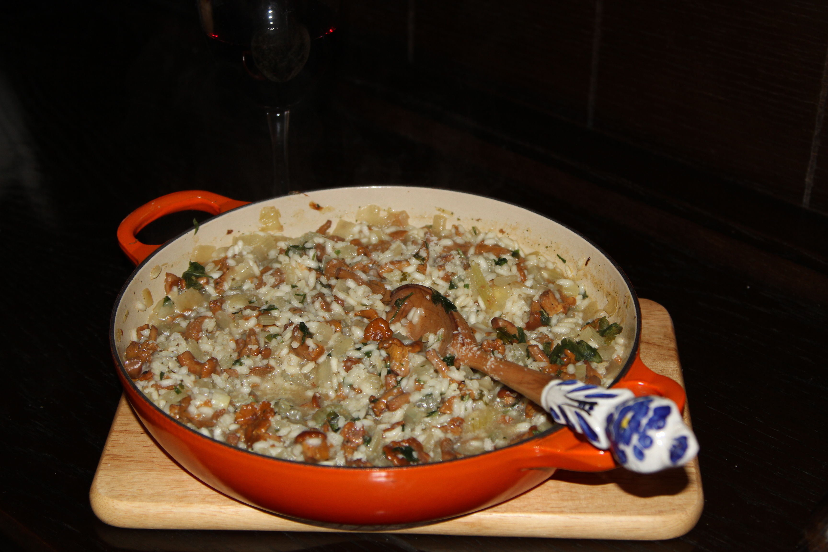 risotto grzybowe