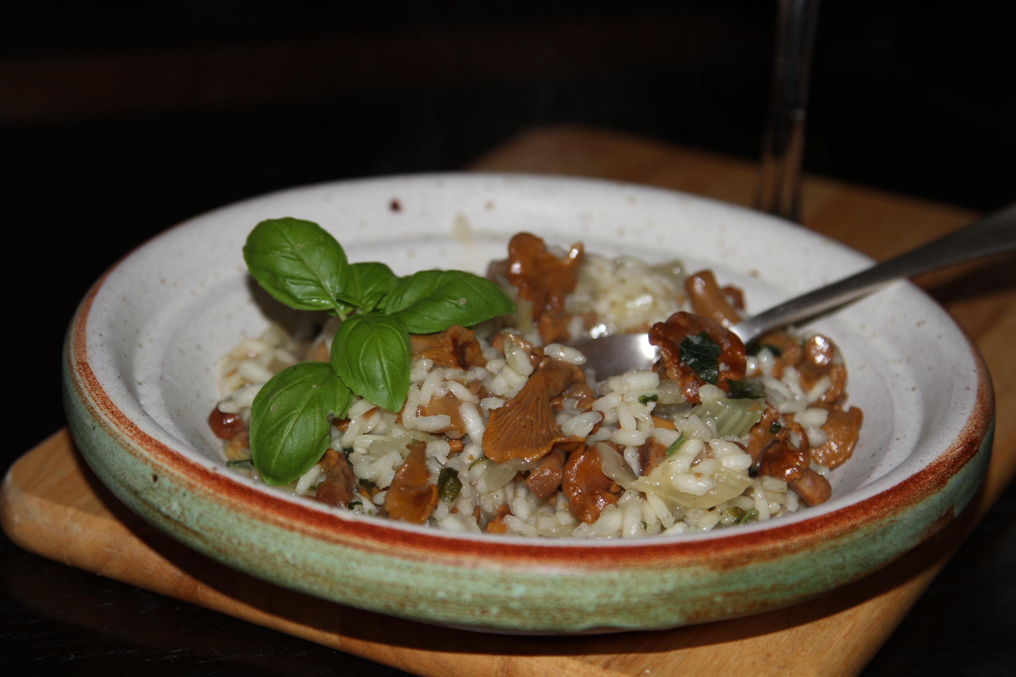 risotto vegetariańskie