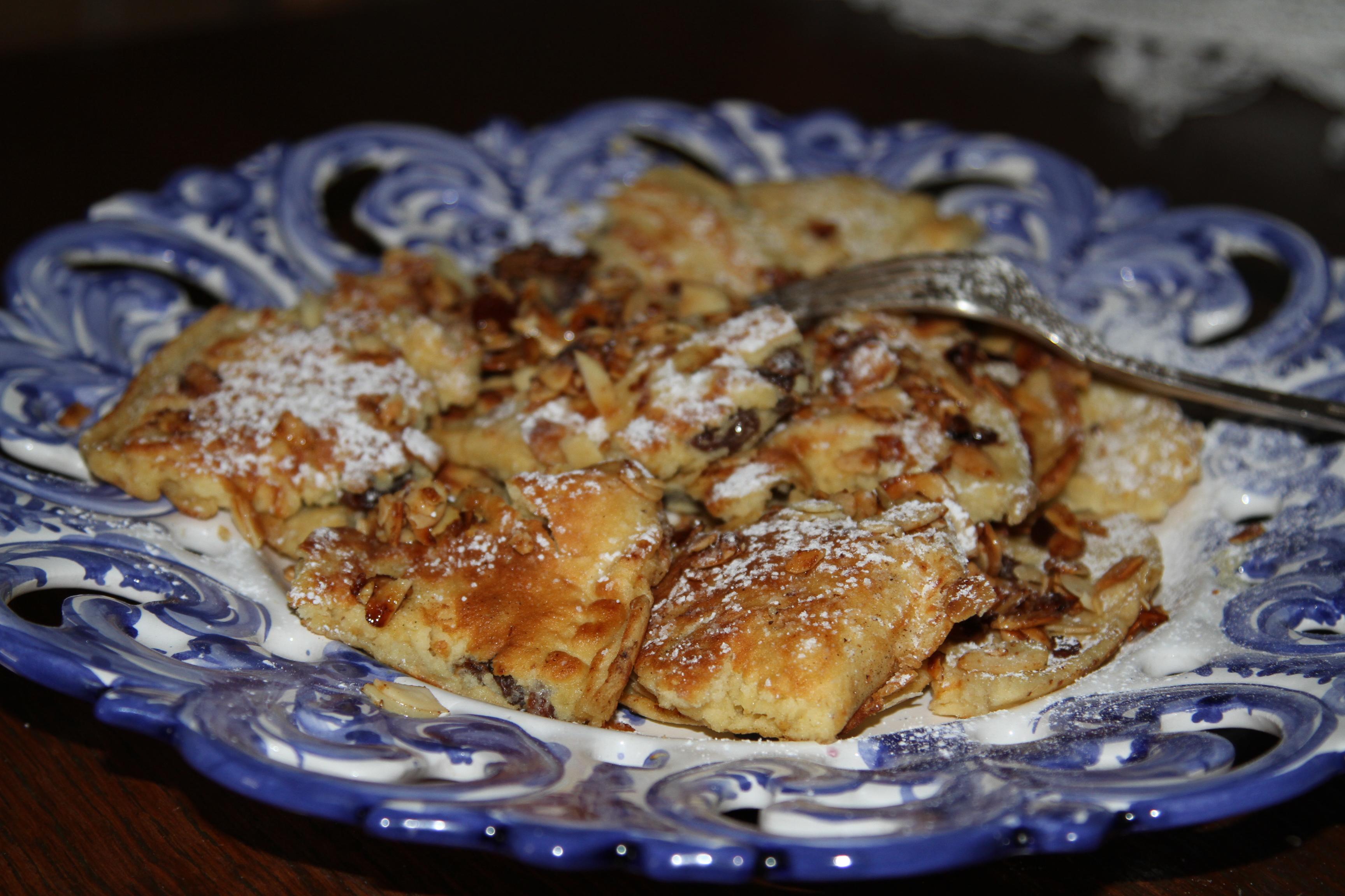 omlet z mąką