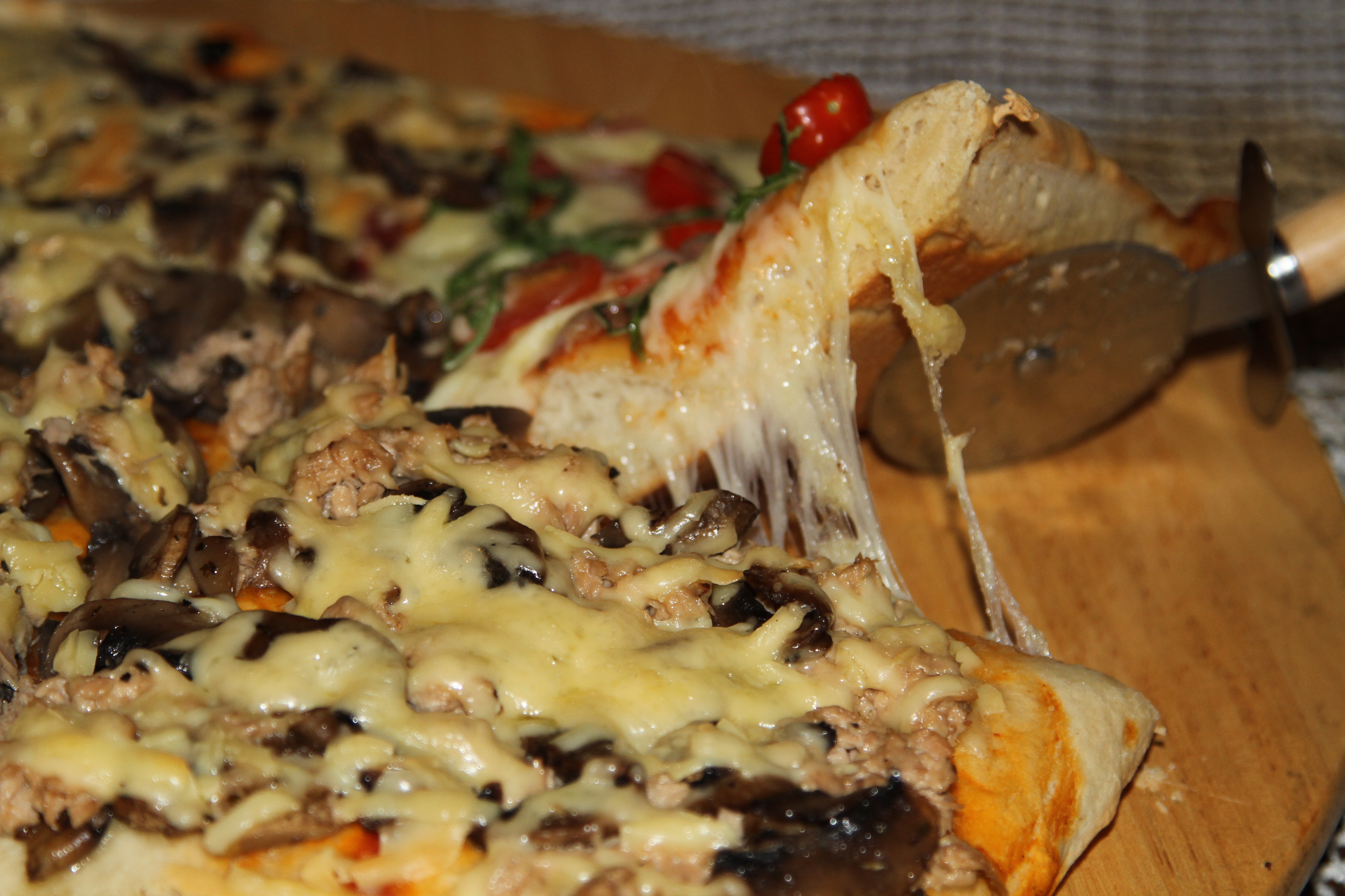 pizza gruba