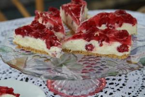 white cheesecake