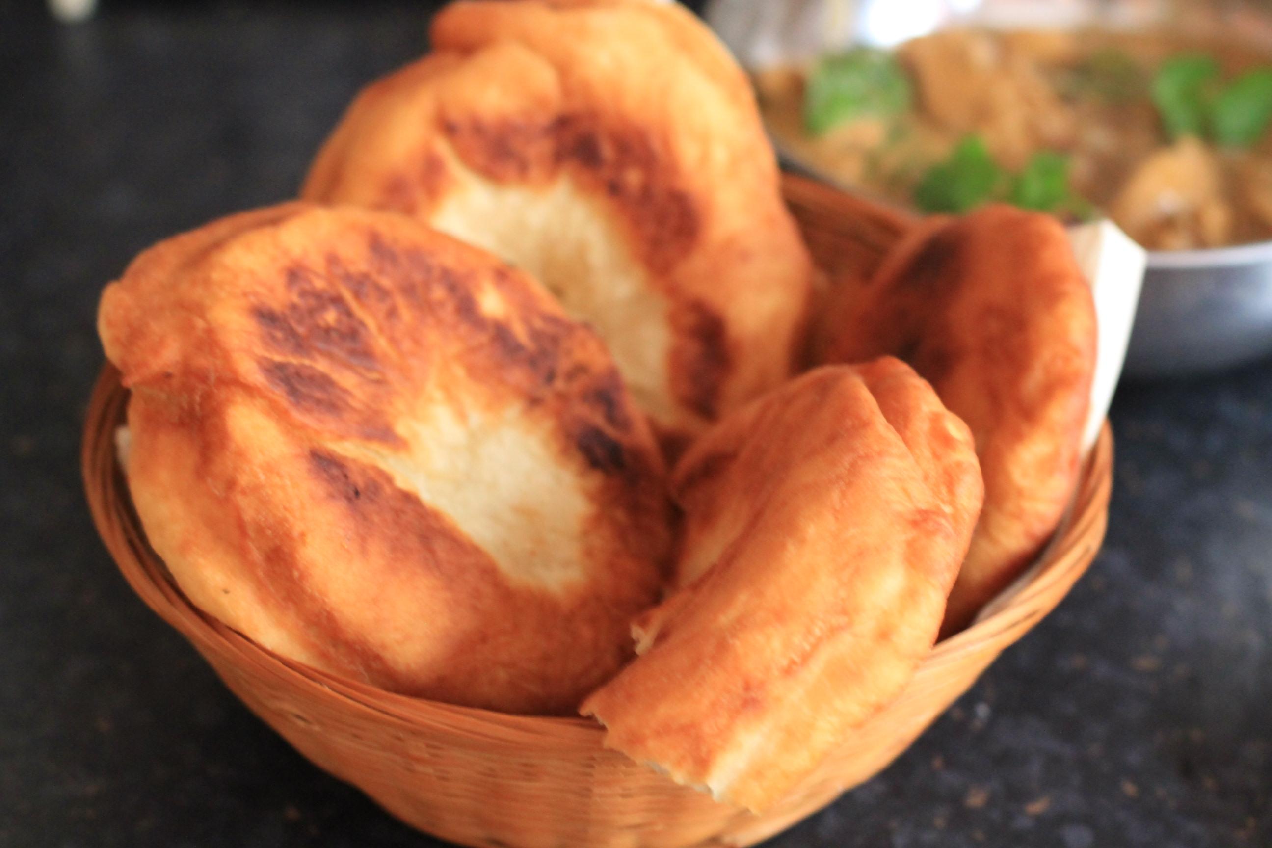 czerwony indyjski chlebek