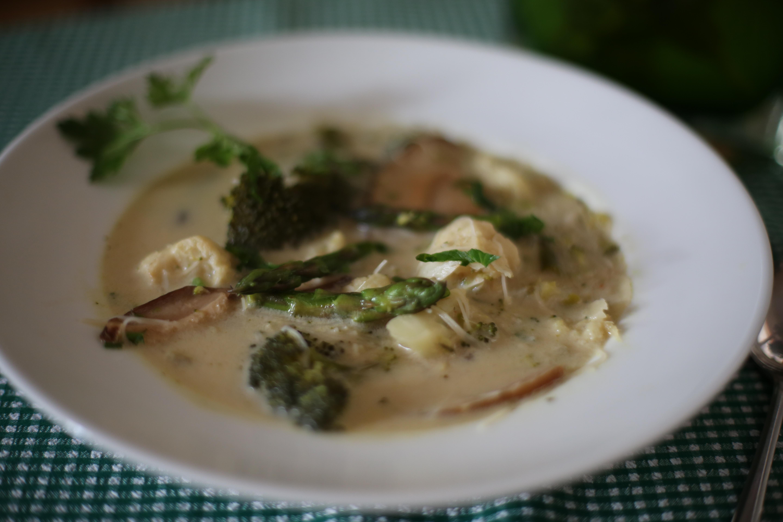 zupa bez mięsa