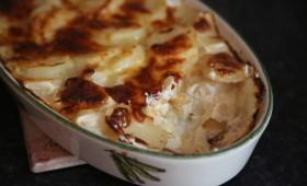 Zapiekane ziemniaki z serem, pyszne