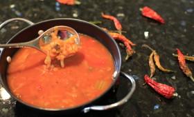 Zupa pomidorowa z cieicerzycą