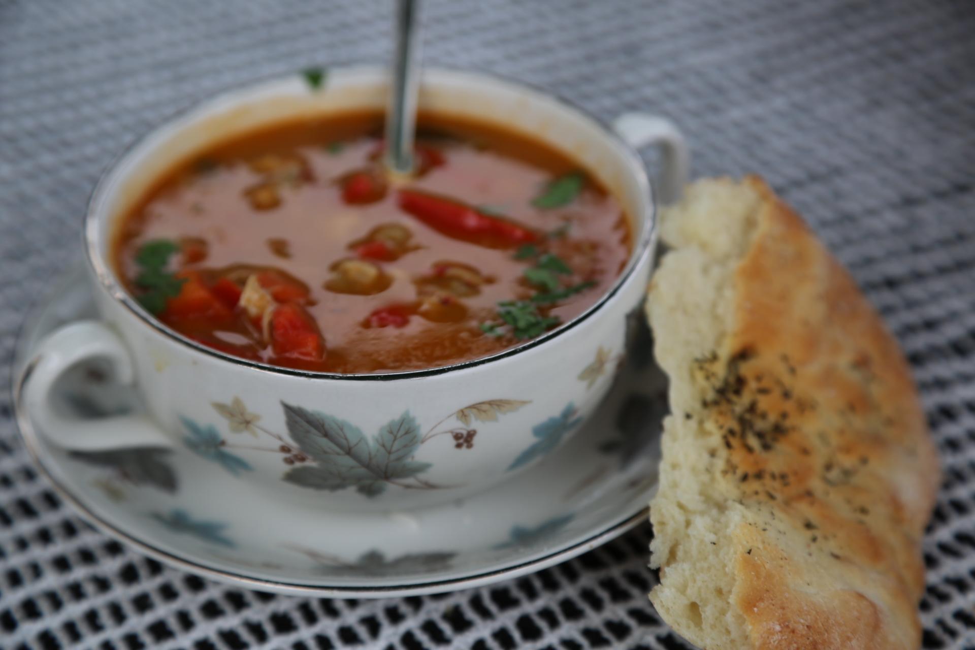egzotyczna zupa
