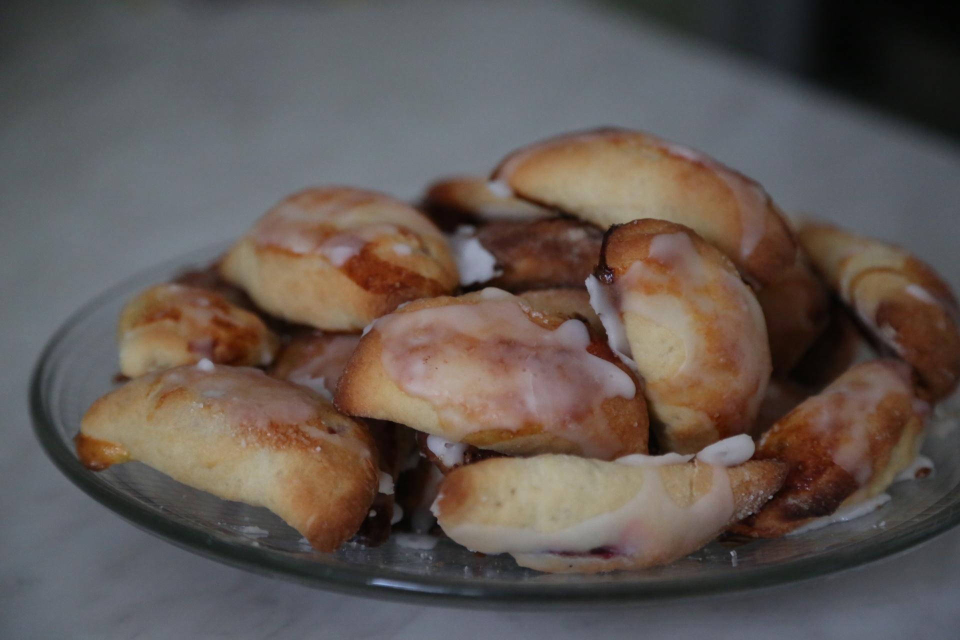 pierożki pieczone
