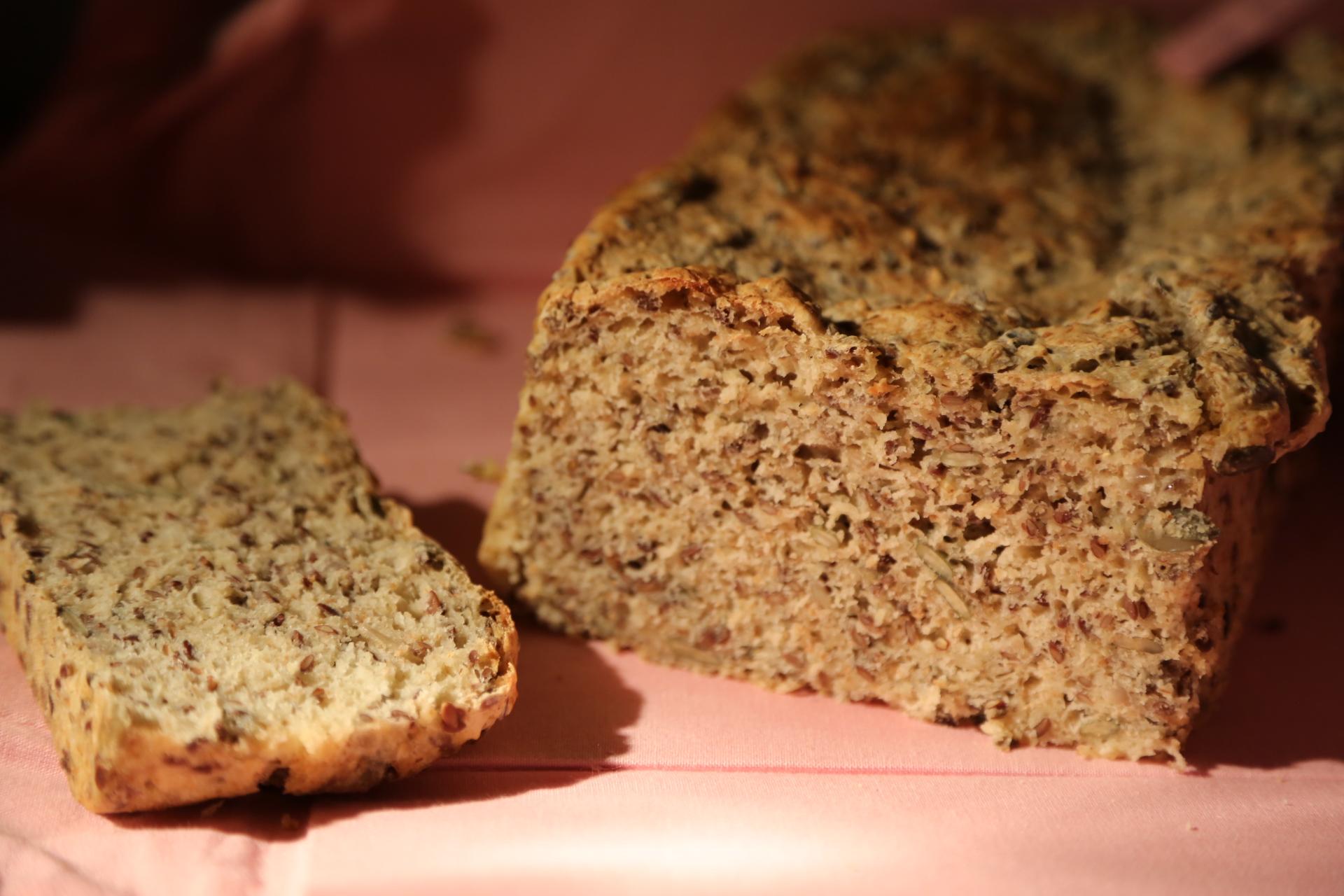 chleb z mąką pszenną