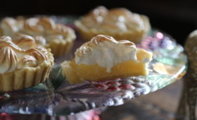 Mini tarty cytrynowe z bezą