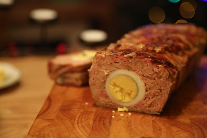 pieczeń z mielonego mięsa