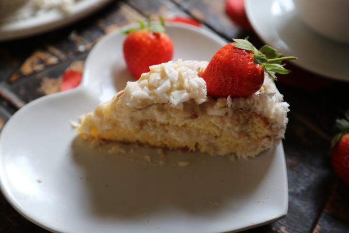 kokosowy tort