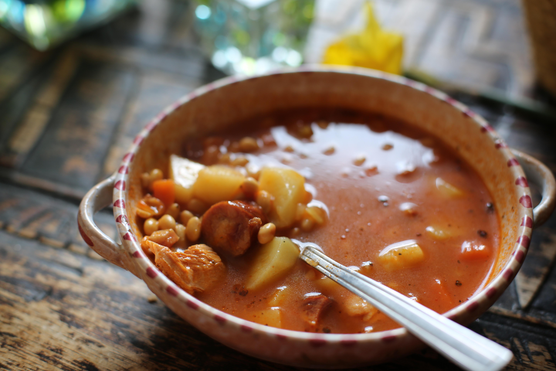 zupa z soją