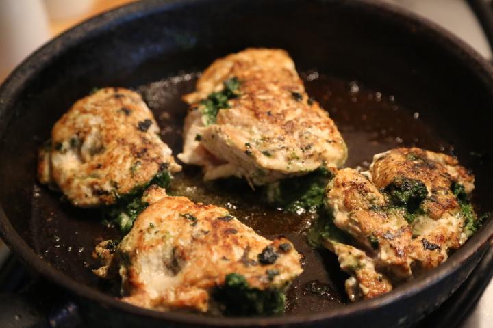 zapiekanka z kurczaka