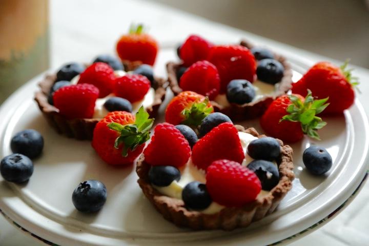 tarty z owocami