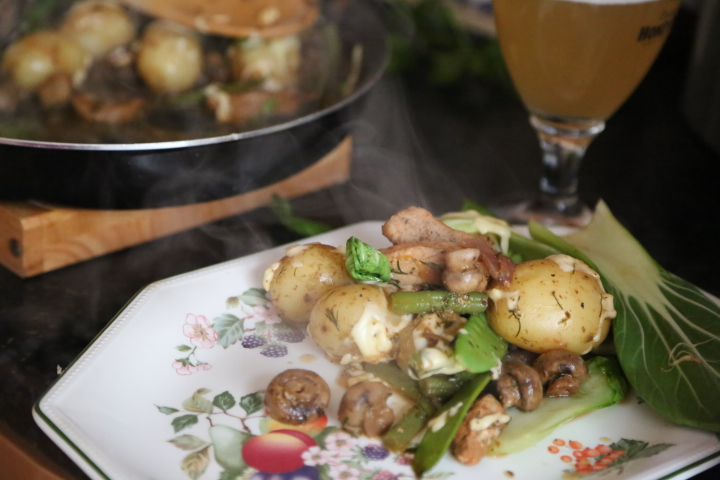 obiad z patelni