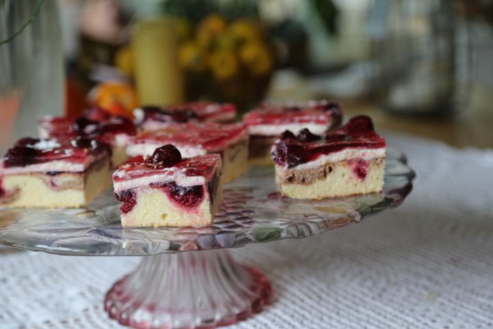 ciasto z wiśniami
